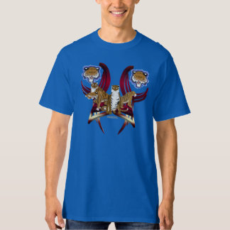 La camiseta alta de 4 hombres de los tigres