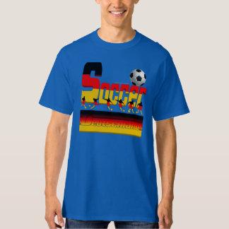 La camiseta alta de los hombres alemanes del playeras