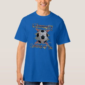 La camiseta alta de los hombres tribales alemanes polera
