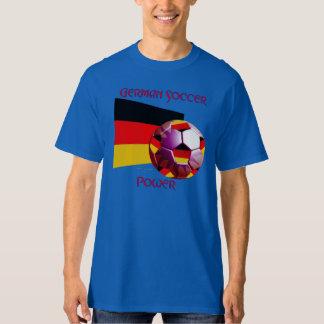 La camiseta alta de Power Hombre del fútbol alemán Remeras