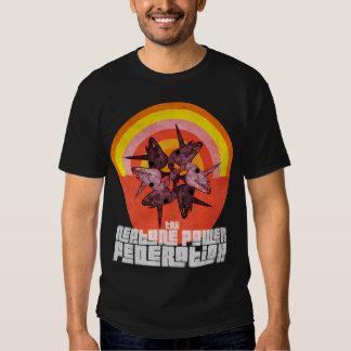 """La camiseta arco iris del """"del diablo"""" de NPF Playera"""