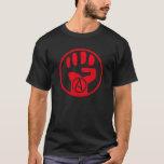 La camiseta atea de Power Hombre