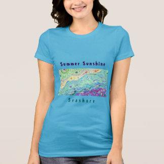 La camiseta azul de las mujeres: Arte/texto de la