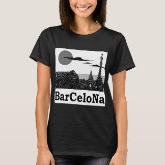La camiseta básica de las mujeres de Barcelona