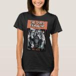 La camiseta básica de las mujeres de la cubierta