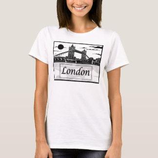 La camiseta básica de las mujeres de Londres
