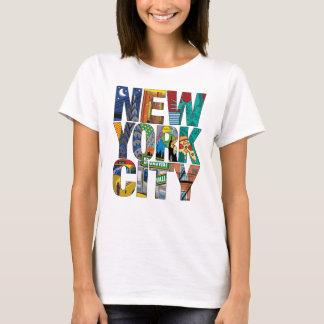 La camiseta básica de las mujeres de New York City