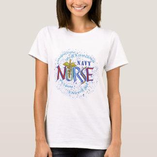 La camiseta básica de las mujeres del lema de la