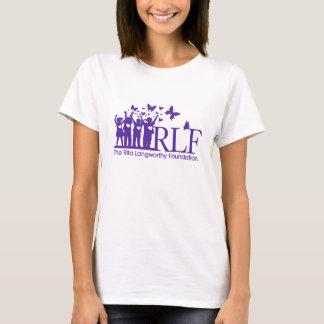 La camiseta básica de las mujeres del logotipo de