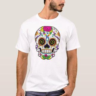 La camiseta básica de los hombres del estilo del