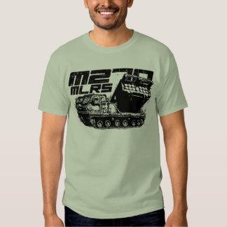 La camiseta básica de los hombres del MLRS M270 Playeras