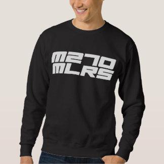 La camiseta básica de los hombres del MLRS M270 Sudaderas Encapuchadas