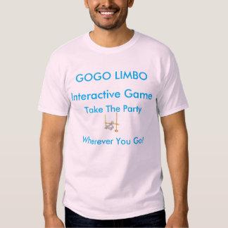 La camiseta básica de los hombres GOGO del LIMBO Playeras