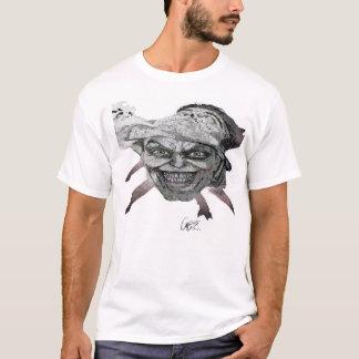 La camiseta básica de los hombres, máscara de un