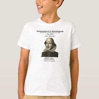 La camiseta básica de los niños camisas