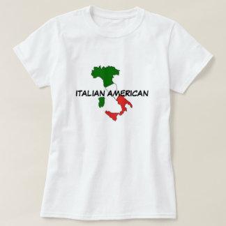 La camiseta básica del americano de las mujeres camisas