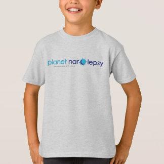 La camiseta básica del niño