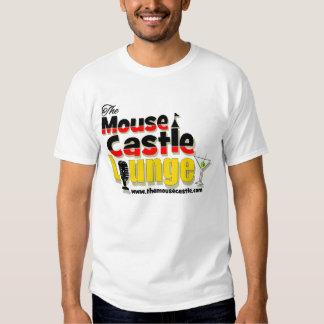 La camiseta básica del ratón del castillo de los playeras