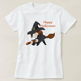 La camiseta básica/la bruja de las mujeres de playeras