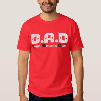 La camiseta básica/la cita de los hombres playera