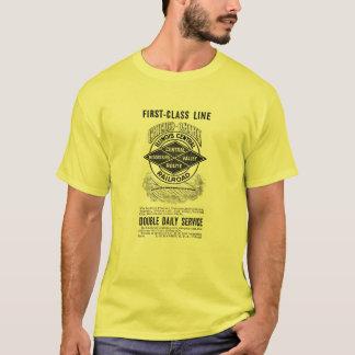 La camiseta básica RR del vintage de los hombres