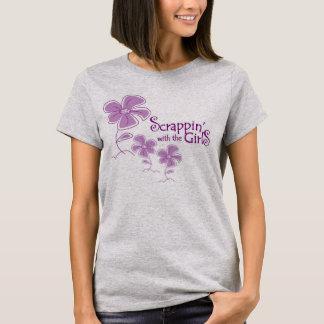 La camiseta básica w/logo de las mujeres