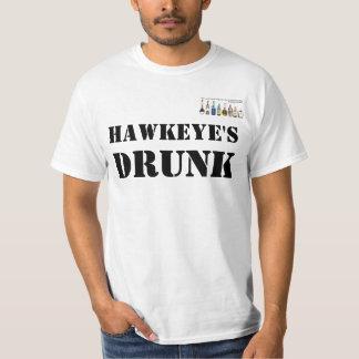 La camiseta bebida de Hawkeye Polera