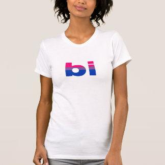 La camiseta bisexual de las mujeres, tallas s a polera