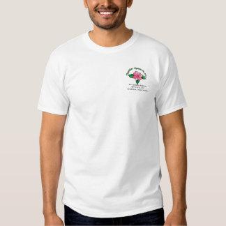 La camiseta blanca clásica de los hombres de la playera