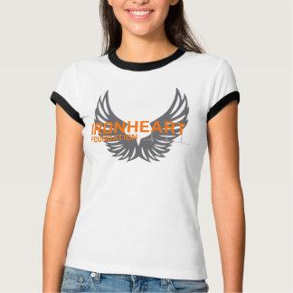 La camiseta blanca de las mujeres de la fundación