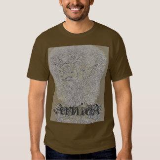 La camiseta cabida árnica de los hombres playera