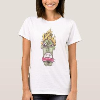 """La camiseta cabida de la mujer del """"wow"""""""