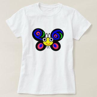 La camiseta cabida de las mujeres de Camelia Playeras