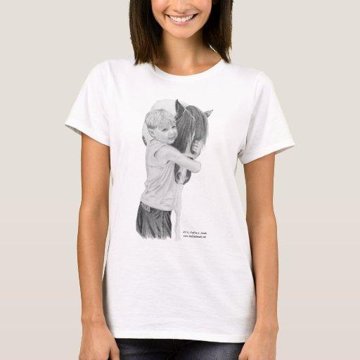 La camiseta, cada una ama un potro playera