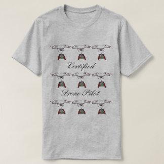 La camiseta certificada del piloto del abejón