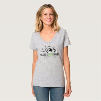 La camiseta con cuello de pico de Pasado de las Playeras