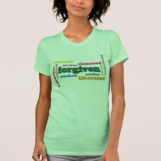 La camiseta cristiana de las mujeres perdonadas