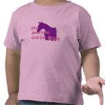 La camiseta cuarta americana de los chicas del
