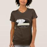 La camiseta de American Apparel de las mujeres del