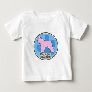 La camiseta de Bouvier del bebé de moda del DES