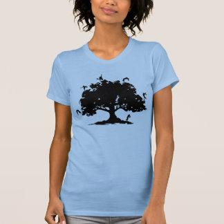 La camiseta de Hip Hop - árbol de la vida
