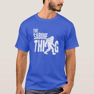 La camiseta de la cosa de la Sabine