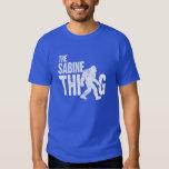 La camiseta de la cosa de la Sabine Playeras