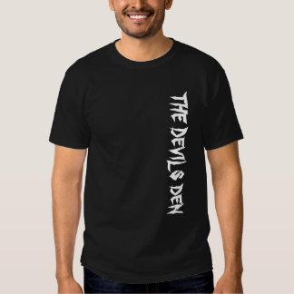 La camiseta de la guarida de los diablos playeras