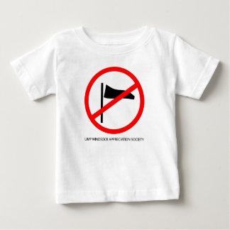 La camiseta de la manga de viento del aprecio del