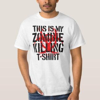 La camiseta de la matanza del zombi