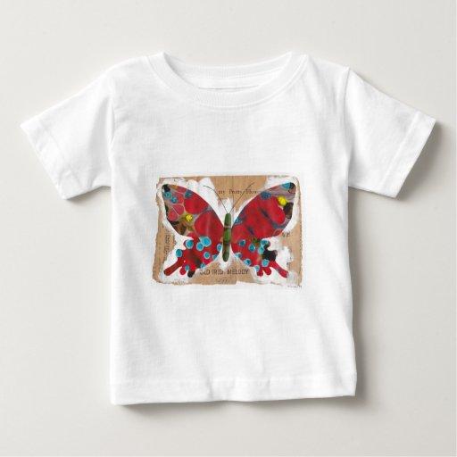 La camiseta de la melodía de los niños irlandeses playeras