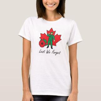 La camiseta de la mujer - a fin de olvidemos