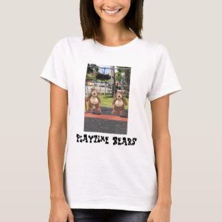 La camiseta de la mujer de los osos de peluche de