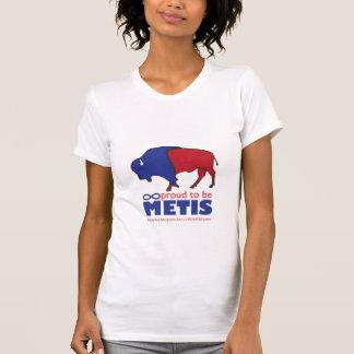 La camiseta de la mujer del búfalo de Metis Remera